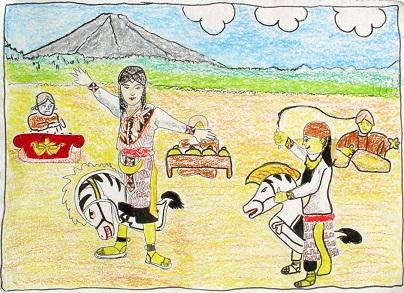 Kuda Lumping karya Nuryuyun Mauliddah