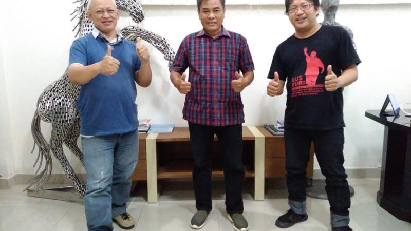 Konsultasi ke Pak Dekan Fakultas Seni Rupa – ISI Yogya